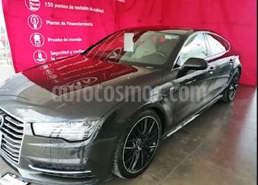 Audi A7 5p S Line L4/2.0/T Aut Quattro usado (2017) color Gris precio $615,000