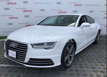 Audi A7 2.0T Elite (252hp) usado (2017) color Blanco precio $627,500