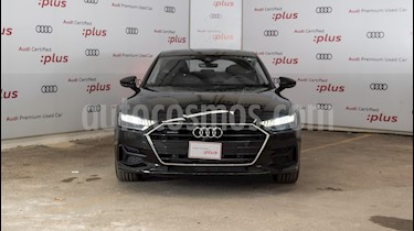 Audi A7 55 TFSI Elite usado (2019) color Gris precio $1,165,485