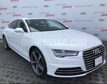 Audi A7 2.0T Elite (252hp) usado (2017) color Blanco precio $640,011