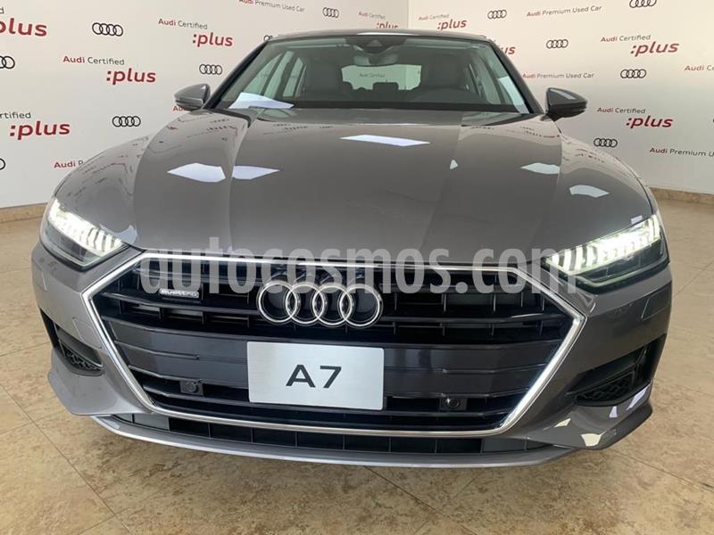 Audi A7 55 TFSI Elite usado (2020) color Gris precio $1,438,750