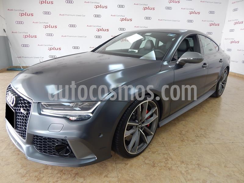 Audi A7 2.0T S Line Quattro (252hp) usado (2018) color Gris Oscuro precio $1,595,000