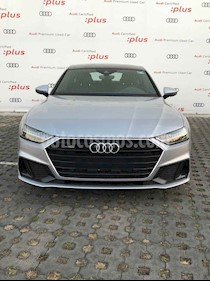 Audi A7 3.0 SB 55 TFSI S line Quattro usado (2019) color Plata precio $1,661,662
