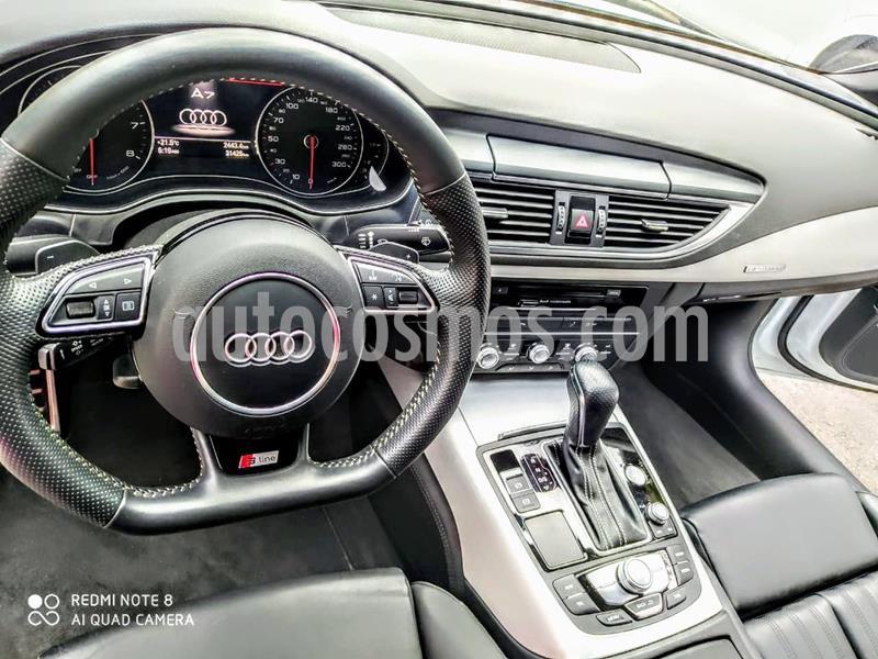 Audi A7 2.0T S Line (252hp) usado (2018) color Blanco Glaciar precio $699,000
