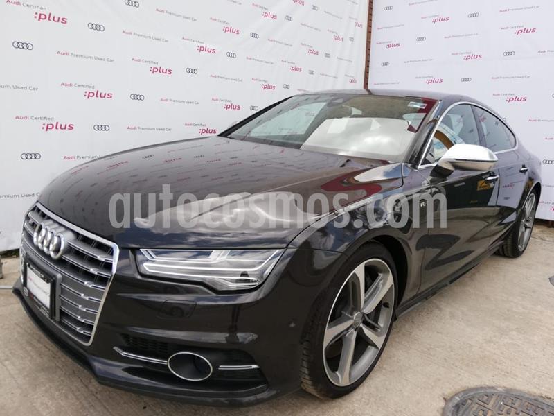 Audi A7 S Line usado (2017) color Gris Oscuro precio $811,000