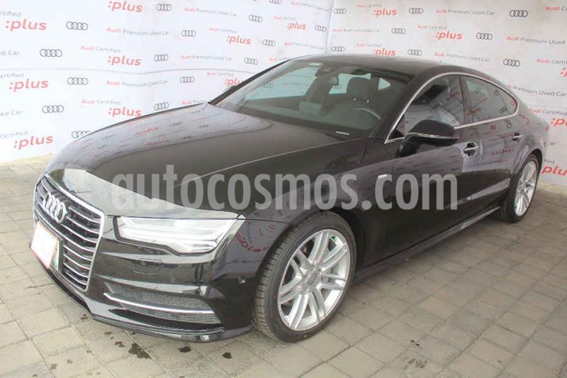 Audi A7 3.0T S Line (333hp) usado (2017) color Negro precio $550,000