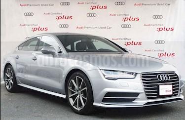 Audi A7 5p S Line L4/2.0/T Aut usado (2018) color Plata precio $760,000