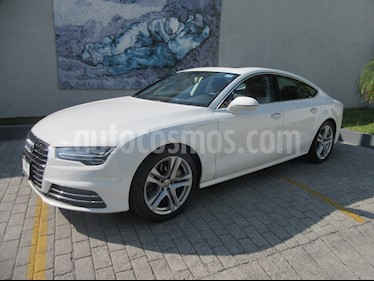 Audi A7 3.0T Elite (333hp) usado (2017) color Blanco precio $649,000