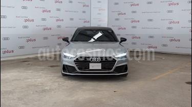 Audi A7 55 TFSI S line usado (2019) color Plata precio $1,010,000