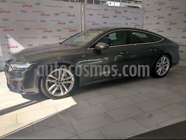 Audi A7 55 TFSI S line usado (2019) color Gris precio $1,080,000