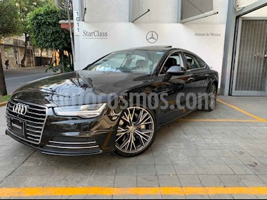 Audi A7 5p Elite V6/3.0/T Aut usado (2017) color Negro precio $590,000