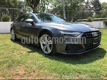 Audi A7 3.0 SB 55 TFSI S line Quattro usado (2019) color Gris precio $879,001