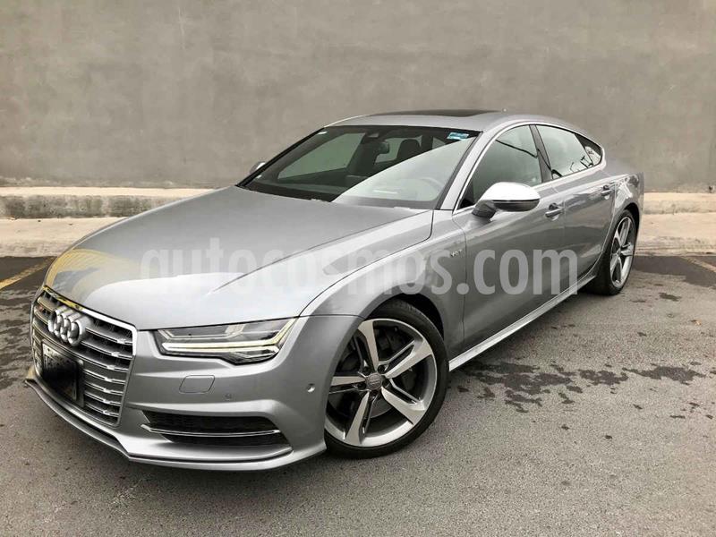 Audi A7 2.0T S Line Quattro (252hp) usado (2016) color Gris precio $670,000