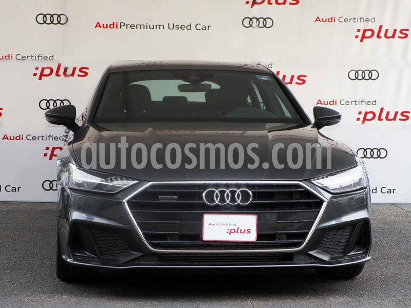 Audi A7 2.0T S Line Quattro (252hp) usado (2019) color Gris precio $999,900
