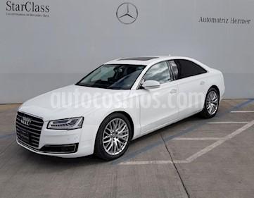 Audi A8 6.3L FSI LWB W12 (500 hp) usado (2018) color Blanco precio $1,199,900