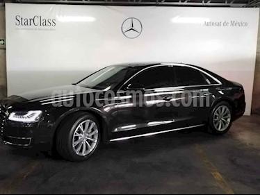 Audi A8 4p Premium V6/3.0/T Aut usado (2018) color Negro precio $949,000