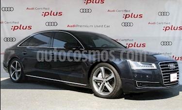 Audi A8 4p LWB Premium V8/4.0/T Aut usado (2017) color Azul precio $910,000