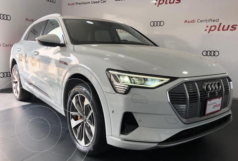 Foto Audi e-tron 55 Advanced quattro usado (2020) color Blanco precio $1,574,318