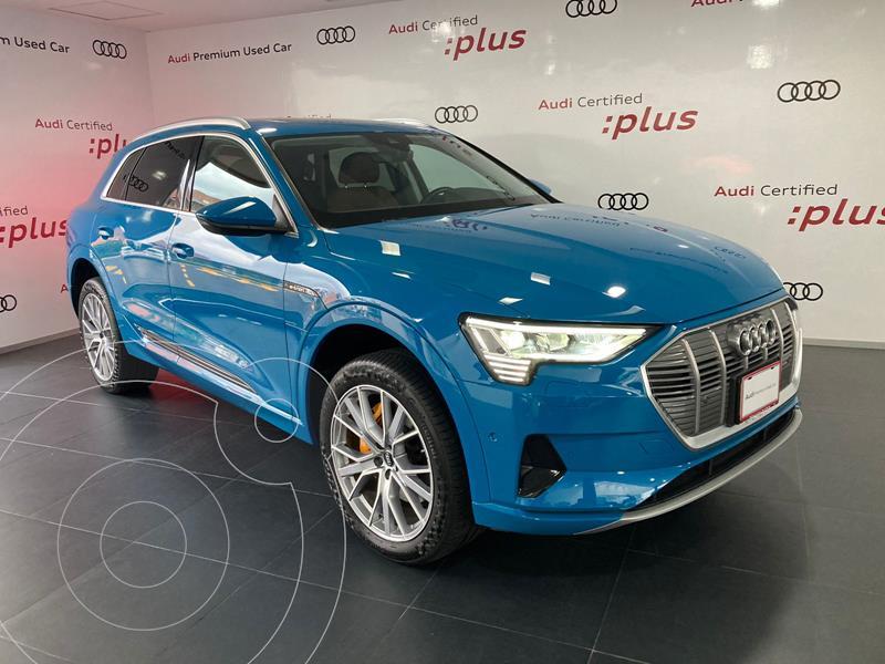 Foto Audi e-tron 55 Advanced quattro usado (2021) color Azul precio $1,599,000