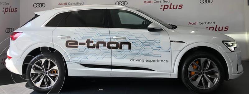 Foto Audi e-tron 55 Advanced quattro usado (2020) color Blanco financiado en mensualidades(mensualidades desde $39,798)