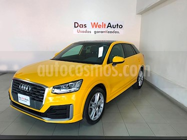 Foto venta Auto usado Audi Q2 2.0L T S Line Quattro (2018) color Amarillo precio $484,995
