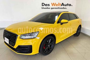 Audi Q2 5p S Line L4/1.4/T Aut usado (2018) color Amarillo precio $439,995