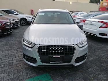 Audi Q3 Luxury (211Hp) usado (2014) color Plata precio $245,000