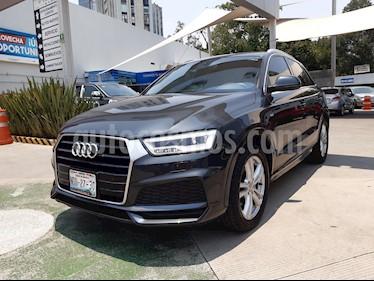 Audi Q3 S Line (150 hp) usado (2018) color Gris Oscuro precio $440,000