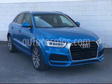 Audi Q3 S Line (170 hp) usado (2018) color Azul precio $555,001