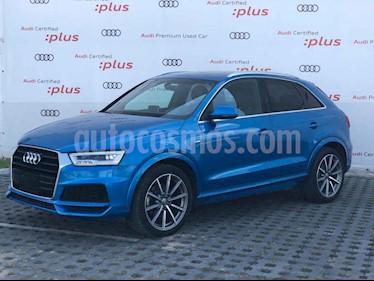 Audi Q3 S Line (170 hp) usado (2018) color Azul precio $479,800