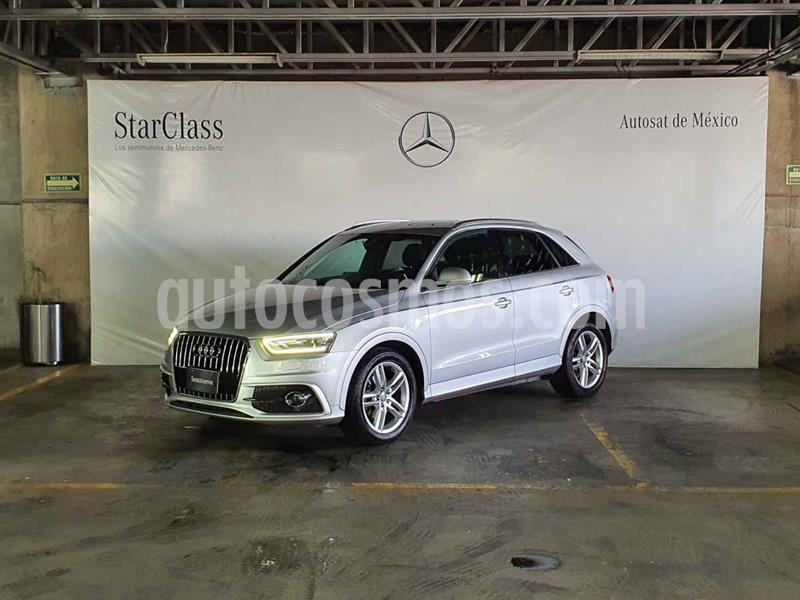 Audi Q3 S Line (170 hp) usado (2013) color Plata precio $279,000