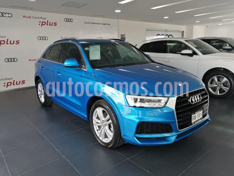 Audi Q3 S Line (150 hp) usado (2018) color Azul precio $480,000