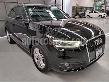Audi Q3 5P LUXURY 170 HP S TRONIC TELA/PIEL RA-17 usado (2015) color Negro precio $268,900