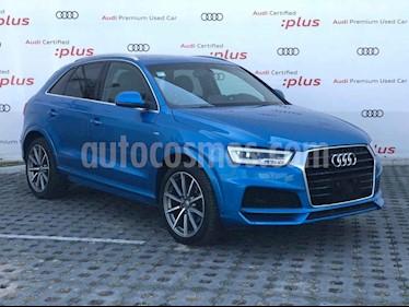 Audi Q3 S Line (170 hp) usado (2018) color Azul precio $479,801