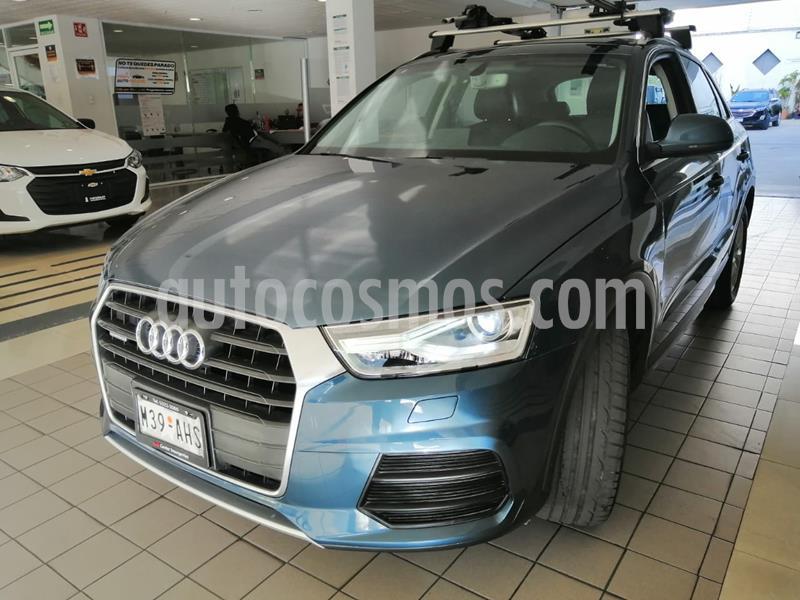 Audi Q3 Luxury (220Hp) usado (2016) color Azul precio $315,000