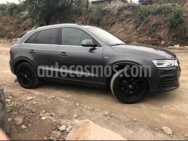 Audi Q3 S Line (220Hp) usado (2016) color Gris Daytona precio $340,000