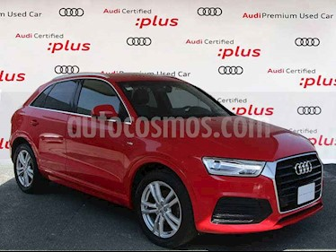 Audi Q3 5p S Line L4/1.4/T Aut usado (2016) color Rojo precio $365,000