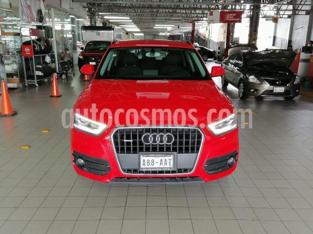 Audi Q3 5P TRENDY 170 HP S TRONIC RA-17 usado (2015) color Rojo precio $260,000