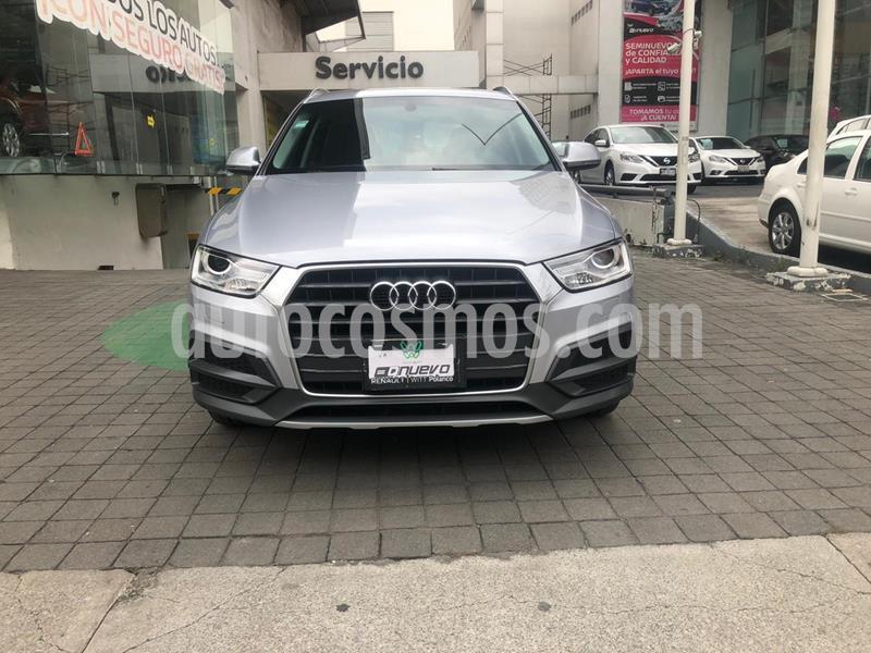 Audi Q3 Luxury (150 hp) usado (2017) color Plata Hielo precio $349,000