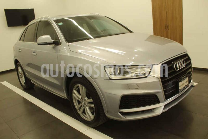 Audi Q3 S Line (220Hp) usado (2017) color Plata precio $415,000