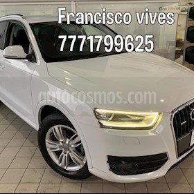 Audi Q3 Luxury usado (2015) color Blanco Amalfi precio $289,900