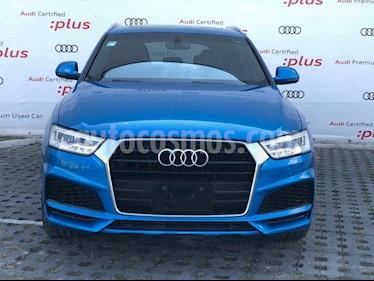 Audi Q3 S Line (170 hp) usado (2018) color Azul precio $555,010