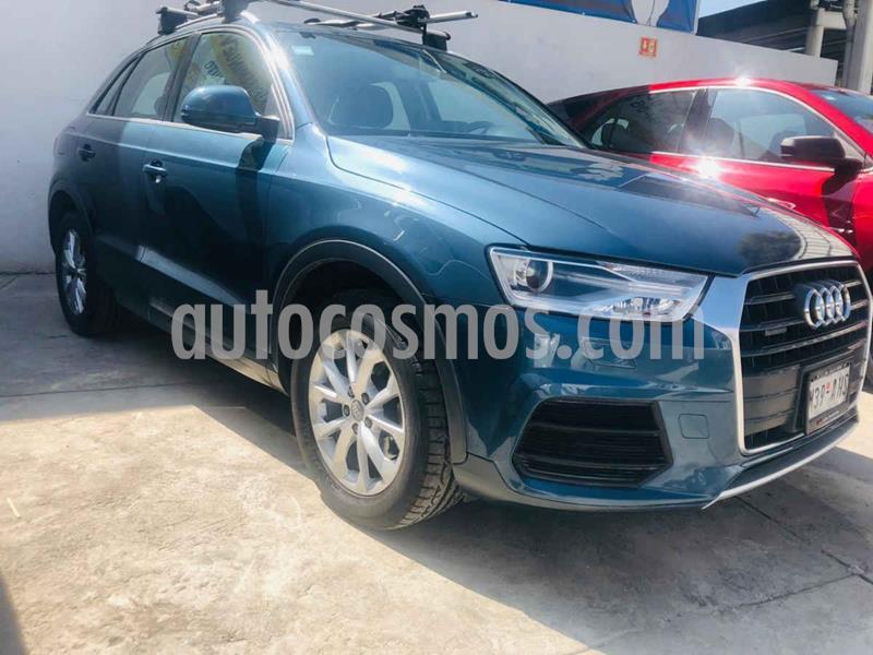 Audi Q3 Luxury (180 hp) usado (2016) color Azul precio $315,000