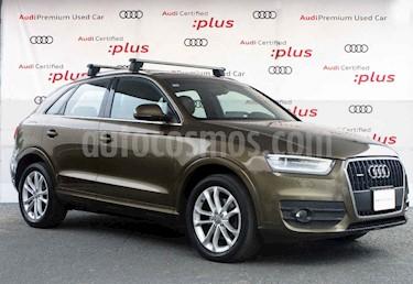 Audi Q3 5p Q3 Elite 2.0 usado (2013) color Cafe precio $250,000