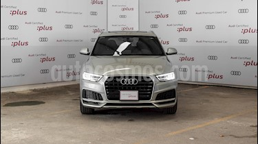 Foto Audi Q3 S Line (150 hp) usado (2018) color Plata precio $450,000