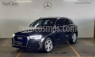 Audi Q3 S Line (180 hp) usado (2018) color Negro precio $489,000