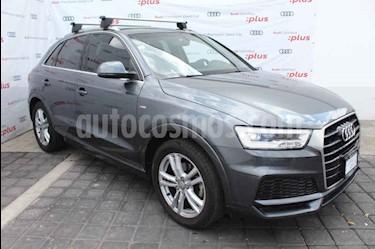 foto Audi Q3 S Line (180 hp) usado (2018) color Gris precio $465,000