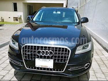 Foto Audi Q5 2.0L T FSI Elite usado (2014) color Azul Profundo precio $330,000