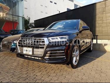 Foto venta Auto usado Audi Q5 2.0L T S Line (2019) color Azul precio $820,000