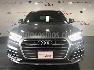Audi Q5 2.0L T S Line usado (2018) color Gris precio $630,000